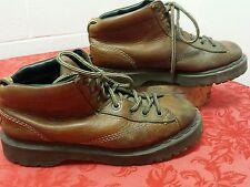 DR. DOC MARTENS Soles Bouncing 8287 Women's 11   & Men's 10 Brown Leather  Boots