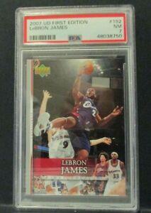 2007 Upper Deck First Edition #192 - LeBron James - PSA 7