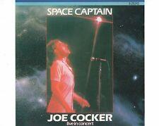 CD JOE COCKERspace captain - live in concertGERMAN 1987 EX+  (B1435)