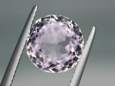 5.97ct Natural Pink Kunzite 10.5mm Loose VS Gemstone Round Afghanistan
