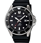 Casio-MDV1061A-Mens-Analog-Watch-Black-Resin-Band-Date-200-Meter-WR