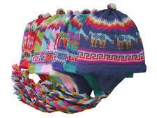 Wholesale Lot Of 30 Multicolor Alpaca Chullos Hat Caps