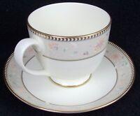 "Pfaltzgraff American Bone China Saratoga #0510 Footed Cup & Saucer Set 3"""