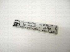 VW MK2 Golf GTI 8V Oktan Roz/Ron Petrol Sticker 057R