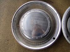 71 Chrysler Newport 15 inch wheel cover set hubcaps OEM 3461410