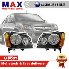 New Headlight For Holden Colorado RC 2/4DR 2008- 2012 Pair Driver&Passenger side