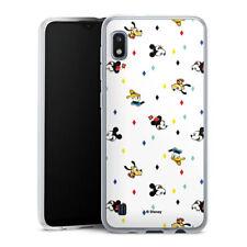 Samsung Galaxy A10 Silikon Hülle Case Handyhülle  - Disney Carnival Pattern