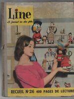 LINE recueil n°26 - Album éditeur n°350 à 362  - le journal des chics filles.