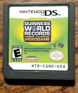 Guinness World Records: The Videogame (Nintendo DS, 2008) Tested Authentic