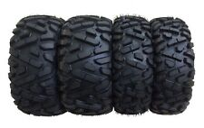 Set of 4 New ATV Tires AT 26x9-12 Front & 26x11-12 Rear 6PR P350 - 10166/10168