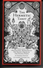 THE HERMETIC TAROT CARDS DECK BY GODFREY DOWSON -78 CARDS WITH BOOKLET