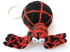 Halloween Freaky Spider Spidy Voodoo Horror String Doll Charm Key Ring Keyring