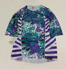 AlpineStars Gravity 3/ 4Sleeve Men's Jersey White Green Purple Size L