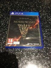 PlayStation 4 PS4 Game The Elder Scrolls Online Morrowind