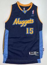 Youth Reebok NBA Denver Nuggets Carmelo Anthony #15 Stitched Jersey Size Medium
