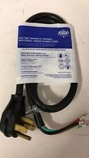 Whirlpool Pt400 4-Feet 40-Amp 4 Wire Range Power Cord Industrial-Grade