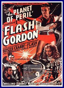 Flash Gordon  Planet Of Peril  Movie Posters Classic & Vintage Cinema