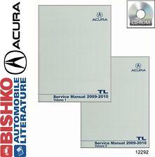 2009 2010 Acura TL Shop Service Repair Manual CD