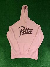 PATTA HOODED SWEATSHIRT SIZE LARGE