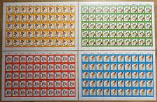Berlin 517 - 520 postfrisch (50 mal) Bogen Satz Jugend trainiert für Olympia