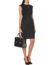 TED BAKER black smart tailored pencil shift suit dress work wear interview 2 10