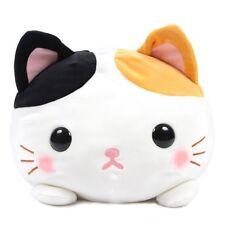 Mochikko Marshmallow Squishy Fluffy Tsum Neko Cat Jumbo Cushion Plush ~ White