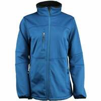 River's End Soft Shell Jacket Womens   Athletic  Jacket Lightweight - Blue -