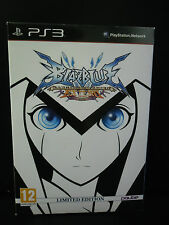 BLAZBLUE CONTINUUM SHIFT EXTEND LIMITED EDITION RARO!! OTTIMO PS3