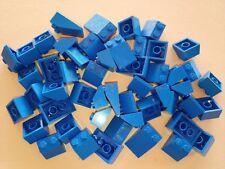 Lego 50 Schrägsteine Dachsteine 2x2 2x3 weiss, 3039 3298 (slope white 3x2)