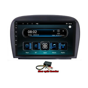 For SL350 SL55 SL550 SL600 Car GPS Navigation Radio Stereo Headunit  DSP Carplay