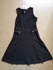 Pimkie Lederlook Kleid schwarz Gr.34 *neu*