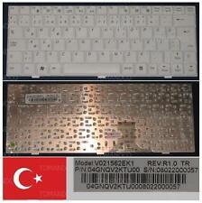 TECLADO QWERTY TURCO PackardBell Easy Note BG45 BG46 Serie V021562EK1 Blanco