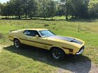 1972 Ford Mustang  1972 Ford Mustang Fast back Mach 1 completely Documented Restoration! one owner