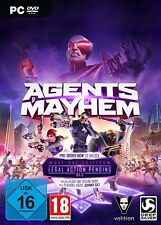 AGENTS OF MAYHEM - D1 Day One Edition PC NEW + OVP