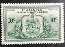 CANADA 1946 # E11 - SPECIAL DELIVERY - 10c GREEN - PEACE ISSUE - MLH V