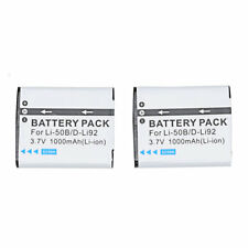 2x Battery for KODAK LB-050 LB-052 PixPro FZ151 FZ152 FZ201 SPZ1 SL10 SL25
