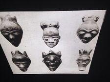 "Pende ""S/Mbuya Mask Pendents"" Zaire African Tribal Art 35mm Slide"
