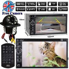 "For Vauxhall Zafira 2 Din 6.2""Car CD DVD Radio Stereo AUX USB+Backup View Camera"