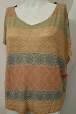 XXI women's Sleeveless Casual Loose Knit Top SMALL (#16e)
