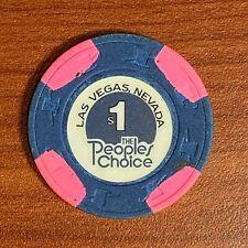 New listing The People's Choice Casino $1 Casino Chip Las Vegas, Nv