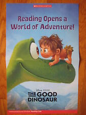 The Good Dinosaur Reading Opens Up a World of Adventure POSTER book library pic