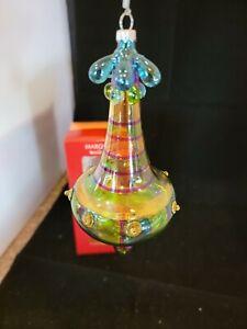 Waterford Marquis Venetian Glass Rossa calda gondola Ornament - 128400