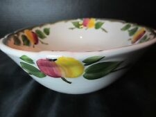 """Villeroy & Boch The Delicious Apple Oval Serving Bowl 10 1/2"""" Long"""
