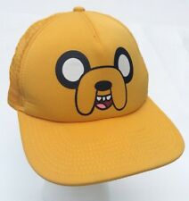 Cartoon Network Adventure Time Jake Big Face Trucker Ball Hat   SnapBack Flawed