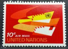 ONU NEW YORK 1969 - POSTA AEREA - C. 10  MNH** RF01