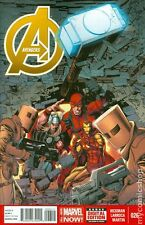 Avengers 26, AI 9, World 1, New 15, Secret 14,16, Uncanny Avengers 19 - 7 bk lot