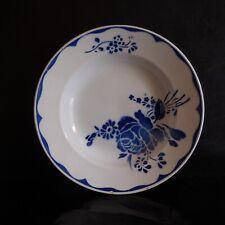Assiette creuse porcelaine opaque KG Lunéville Lille art nouveau France N3790
