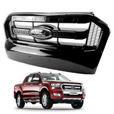 Front Grill Grille Black Trim Fx4 Genuine 1Pc For Ford Ranger T6 Pickup 2015 17
