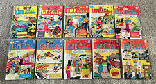 ARCHIE COMICS  LIFE WITH ARCHIE 115-149  LOT OF 10 DIFF  1971-74