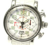 GRAHAM Silver stone 2GSIUS GMT chronograph Automatic Men's Watch_550991